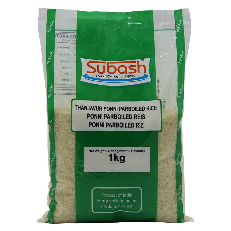 Subash Par Boiled Rice IN 4 x 5 kg