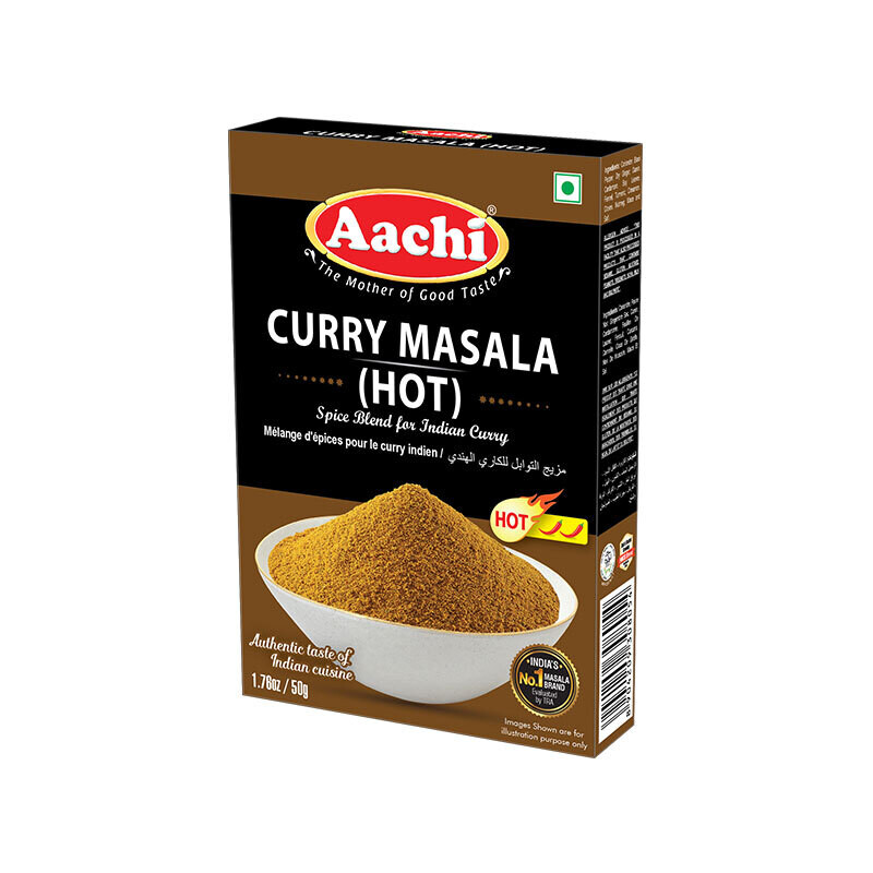 Aachi Curry Masala Hot 12 x 50g