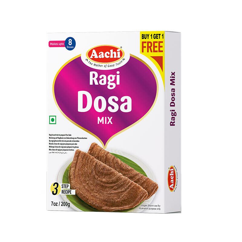 Aachi Ragi Dosa Mix 10 X 200 g