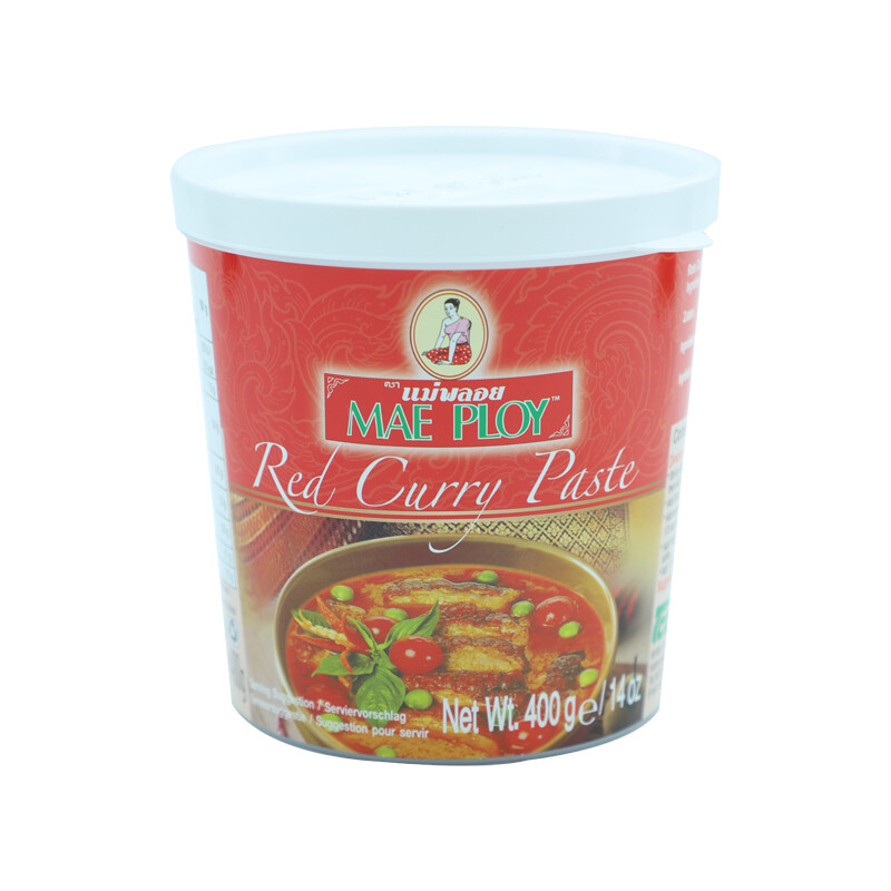 Mae Ploy Curry Past Red 24 x 400 g