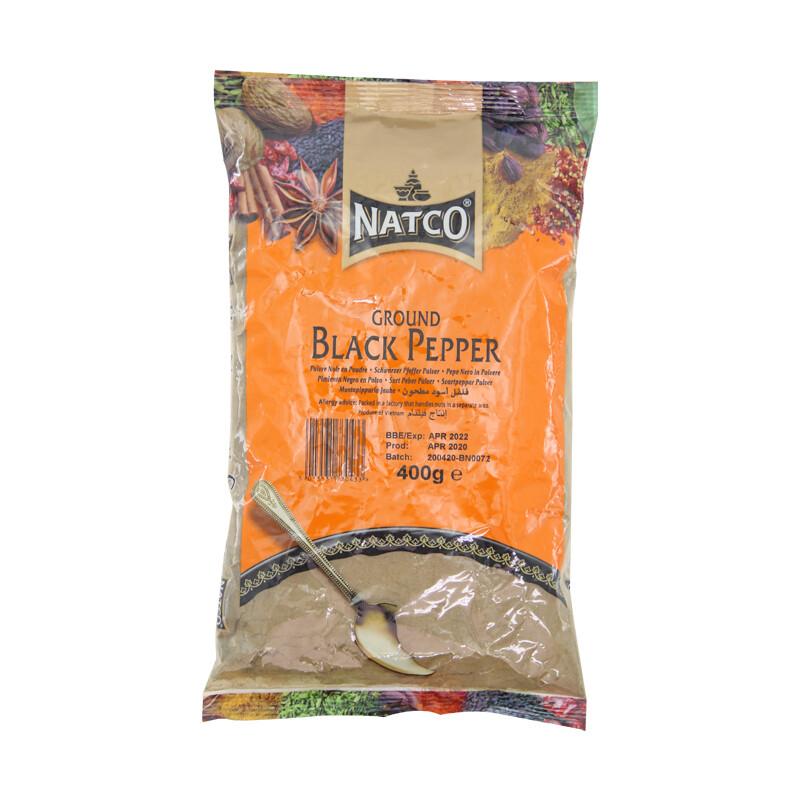 Natco Black Papper Ground 10 x 400 g