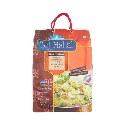 Taj Mahal Steamed Basmti Rice 4 x 5 kg