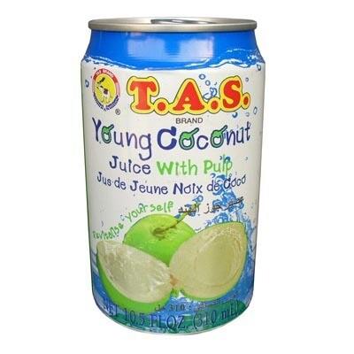 TAS Coconut Juice 24 x 310 ml