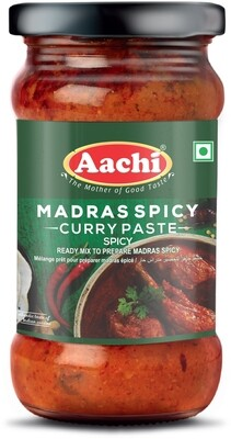 Aachi Madras Spicy Curry Paste 24 x 300 g