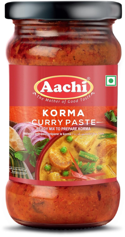 Aachi Korma Curry Paste 24 x 300 g