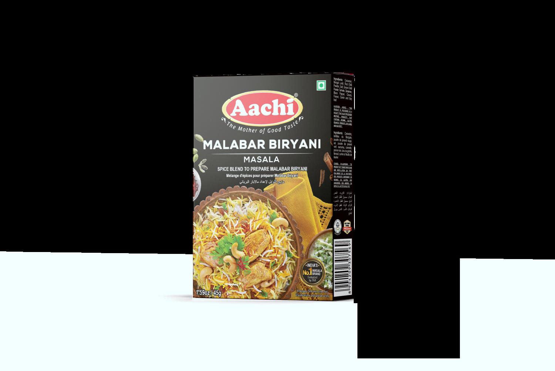 Aachi Malabar Chicken Biryani Masala 12 x 45 g
