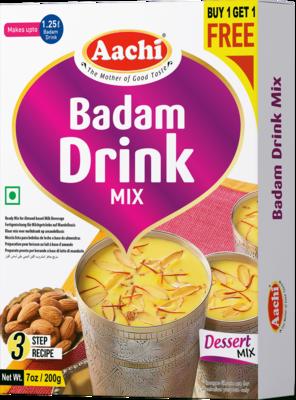 Aachi Badam Drink Mix** 10 x 200 g