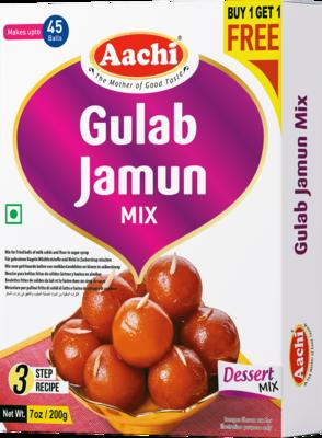 Aachi Gulab Jamun Mix** 10 x 200 g