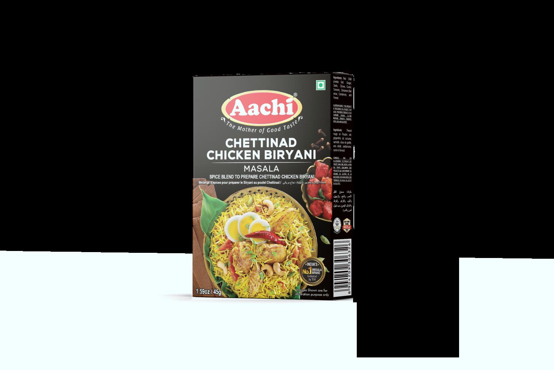 Aachi Chetinad Chicken Biryani 12 x 45 g