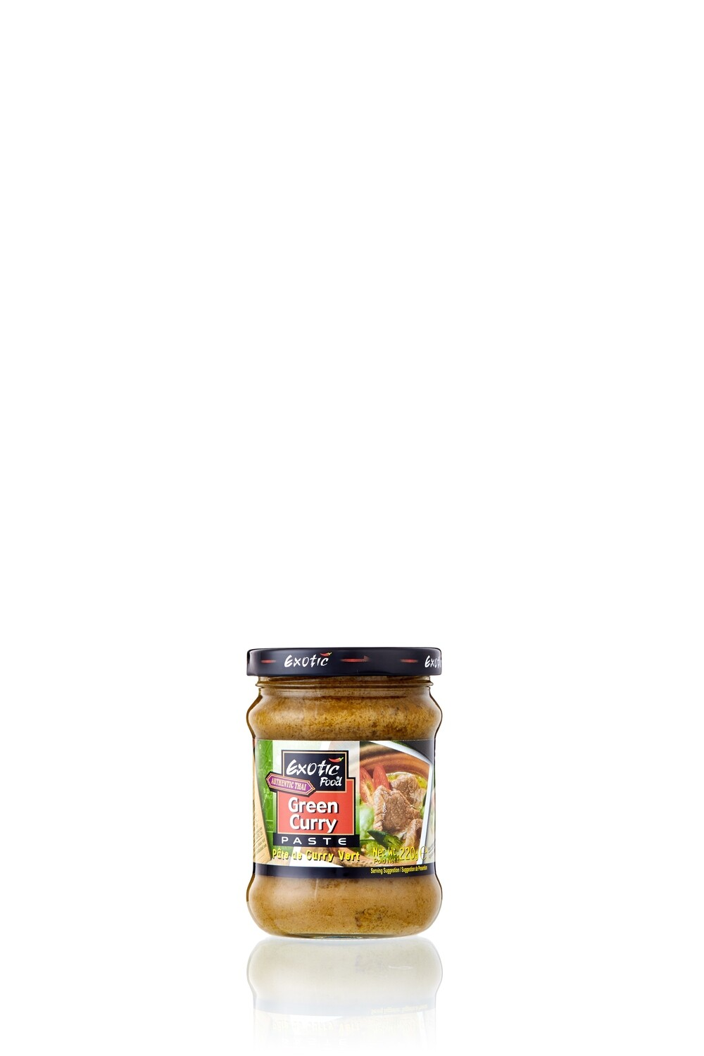Exotic Green Curry Paste 12 x 220 g