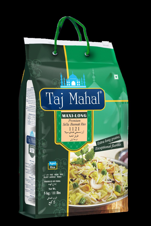 Taj Mahal Sella Basmti Rice 4 x 5 kg