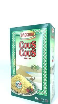 Bia Bacchini Couscous Fein 10 x 1 kg
