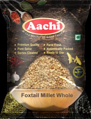 Aachi Foxtail Millet Whole 10 x 1 kg