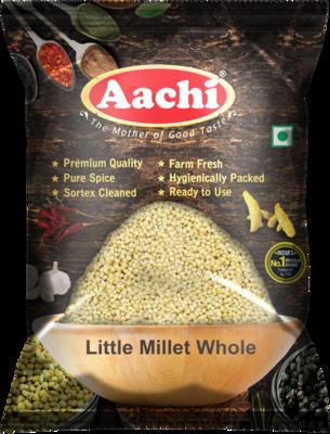 Aachi Little Millet Whole 10 x 1 kg