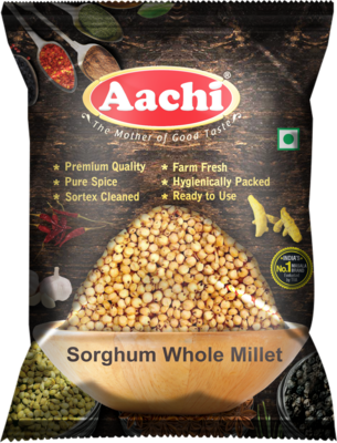 Aachi Sorghum Whole 10 x 1 kg