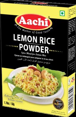 Aachi Lemon Rice Powder 12 x 50 g