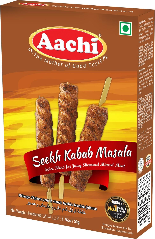 Aachi Seekh Kabab Masala 12 x 50 g