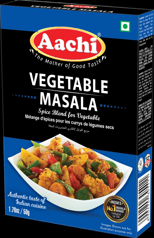 Aachi Vegetable Masala 12 x 50g