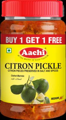 Aachi citron pickle** 30 x 200 g