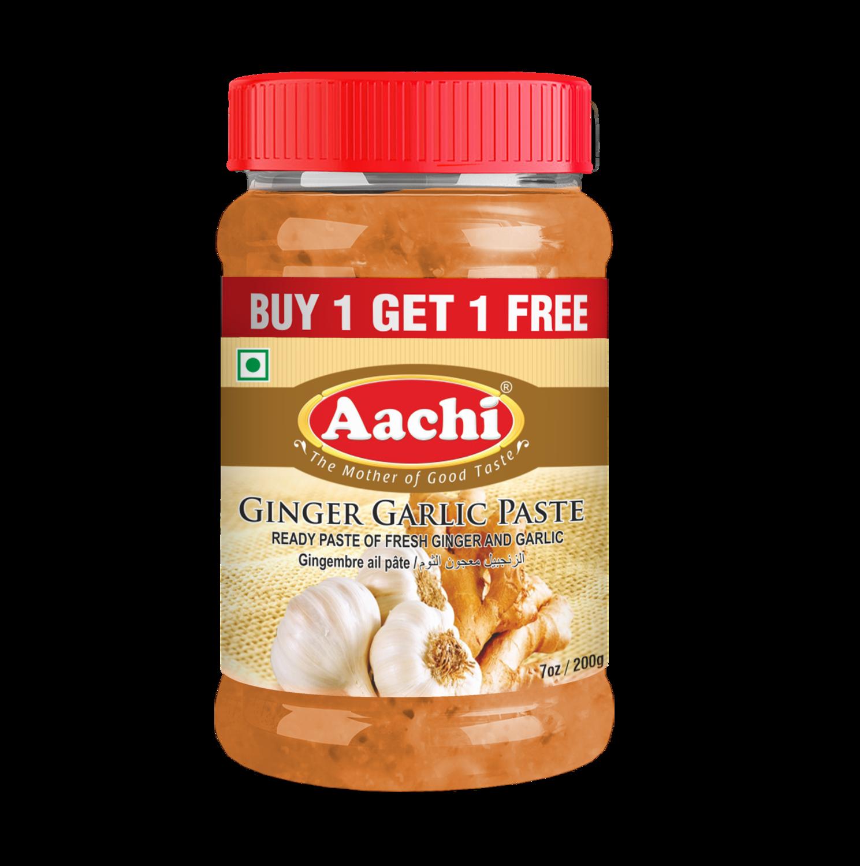 Aachi Ginger & Garlic Paste** 30 x 200 g