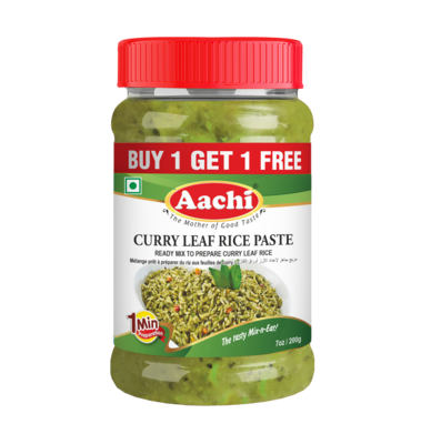 Aachi Curry Leaf Rice Paste** 30 x 200 g