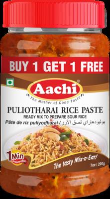Aachi Puliyotharai Rice Paste** 30 x 200 g