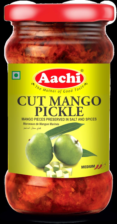 Aachi Cut Mango Pickle 24 x 300 g
