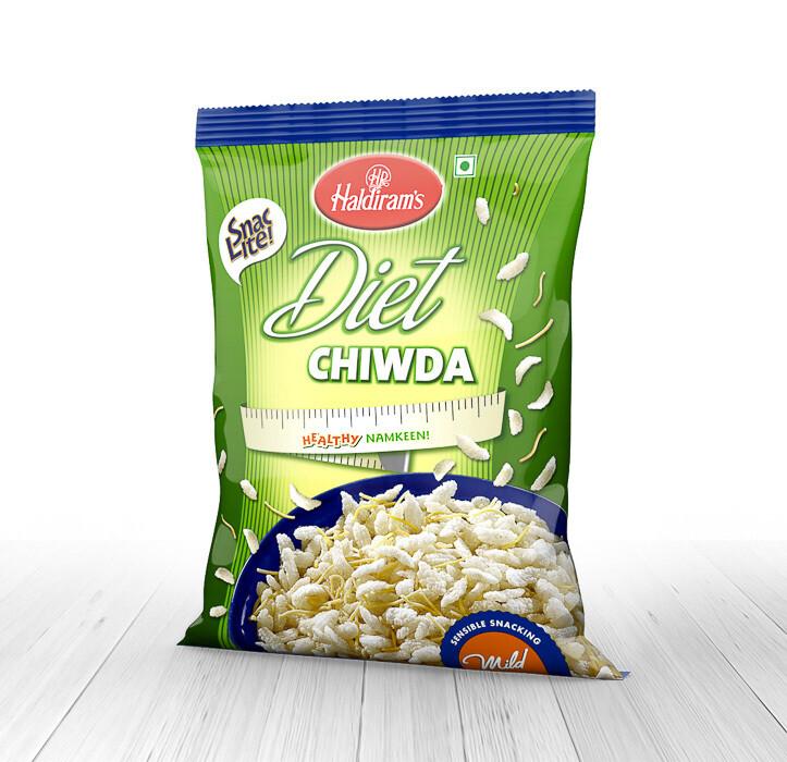 Haldiram Diet Chiwda 6 x 180 g