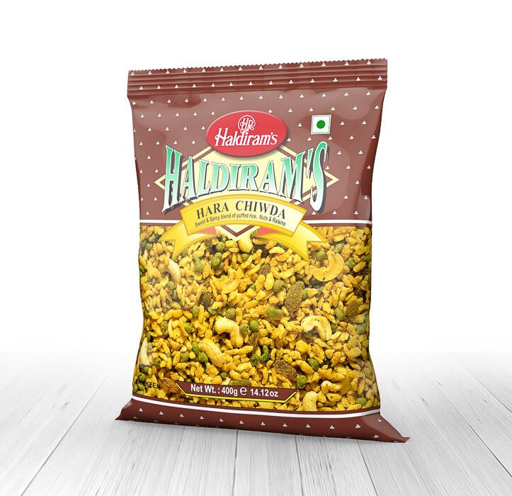Haldiram Hara Chiwda Mix 10 x 200 g