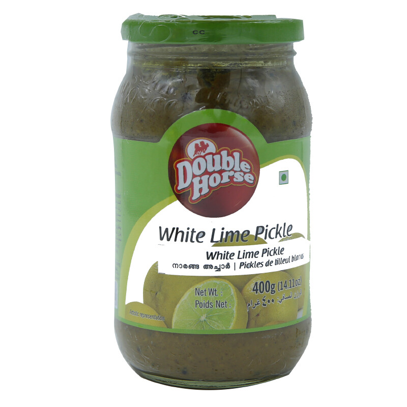 Double Horse White Lime Pickle 12 x 400 g