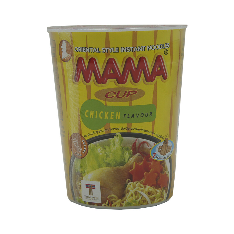 Mama Instant Cup Noodles Chicken 16 x 70 g