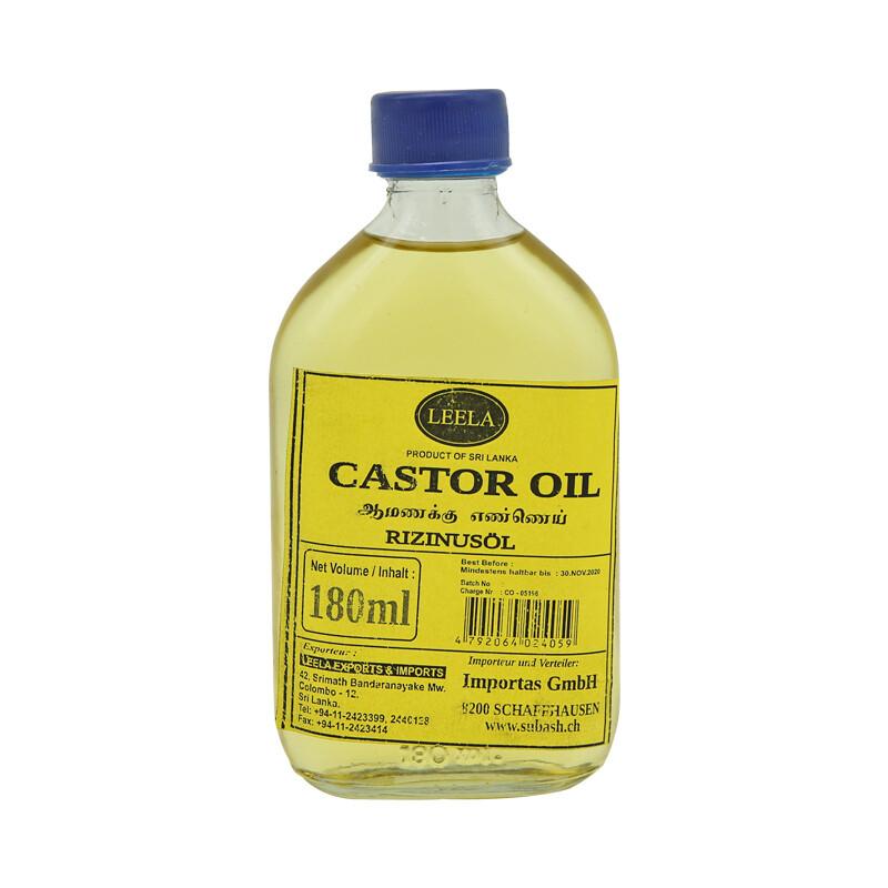 Leela Castor Oil 24 x 180 ml