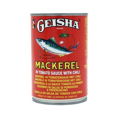 Geisha Mackerel Chilli Sauce 12 x 425 g
