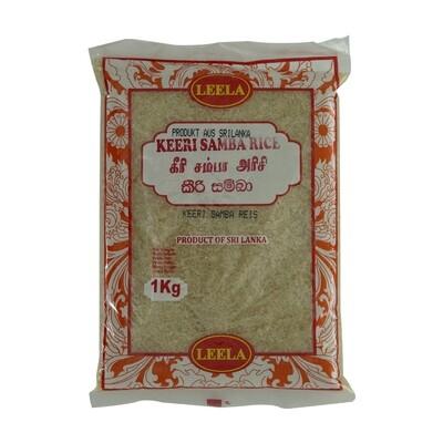 Leela Keeri Samba Rice 20 x 1 kg