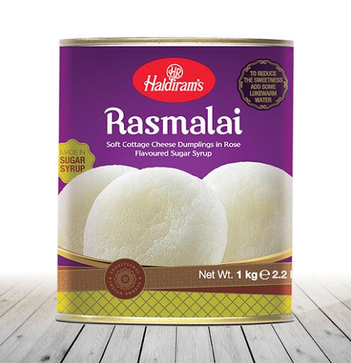 Haldiram Rasmalai 12 x 1 kg