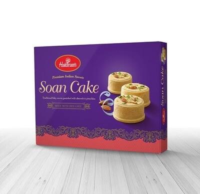 Haldiram Soan Cake 10 x 250 g