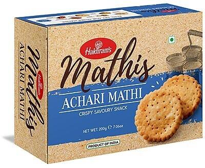 Haldiram Achari Mathi 12 x 200 g