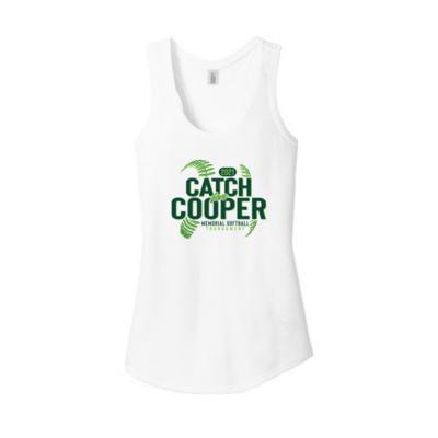 Catch for Cooper Women's Racerback Tank