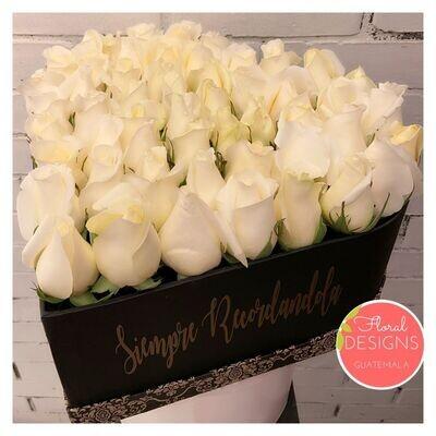 Big Box de condolencias en forma de corazón