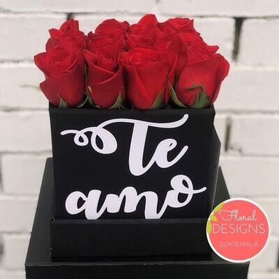 Mini Flowerbox de rosas