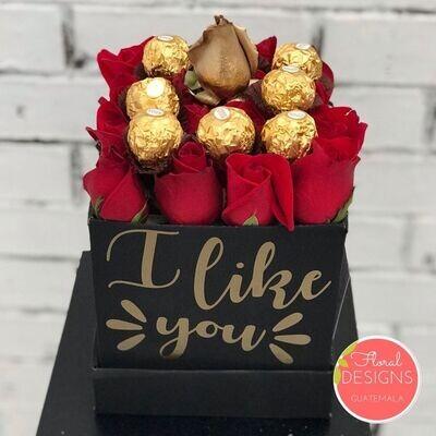 Mini Flowerbox Ferrero