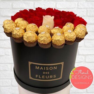 Roundbox Maison Des Fleurs Ferrero