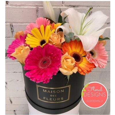 Roundbox Maison Des Fleurs Floral Designs