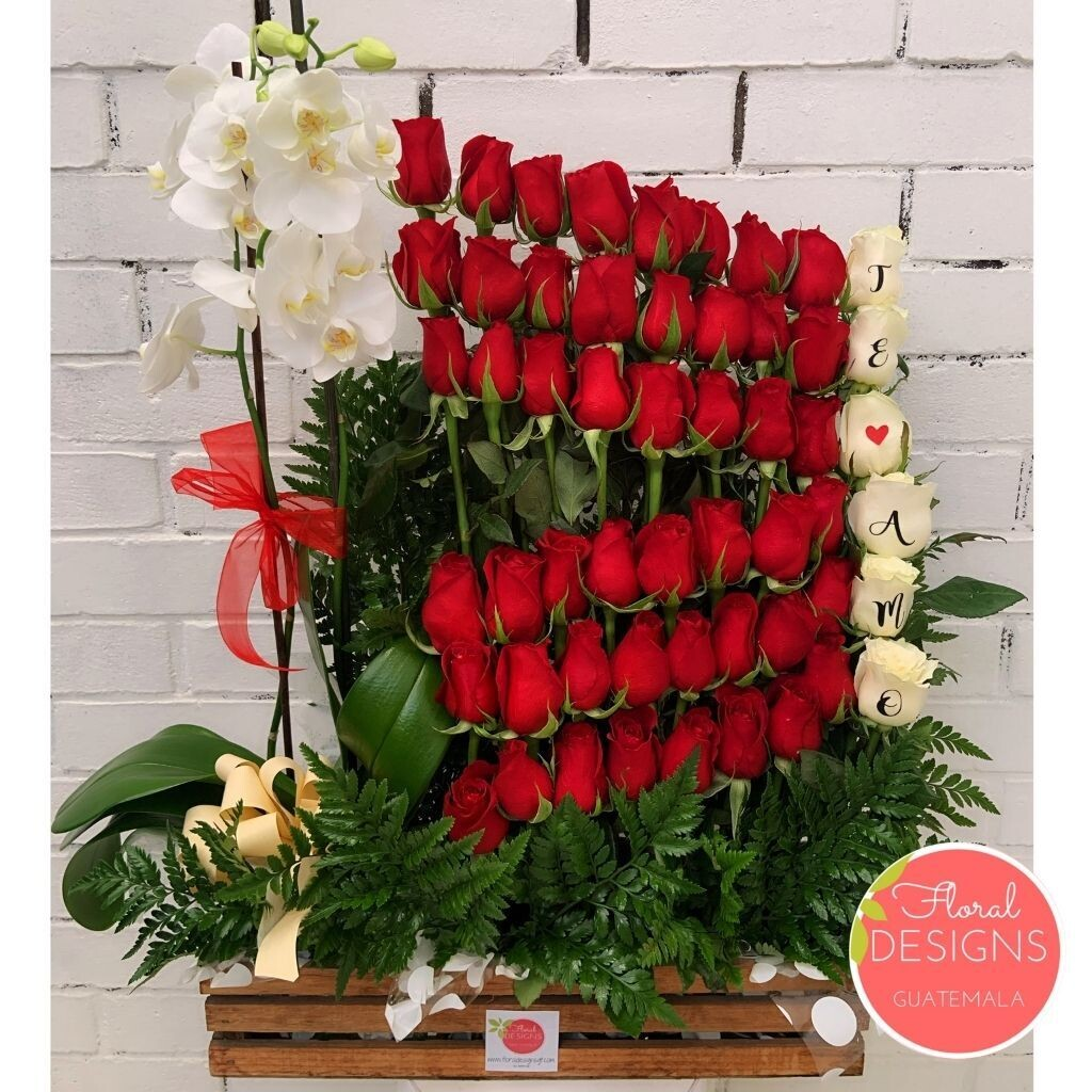 Promesa de amor + Orquídea