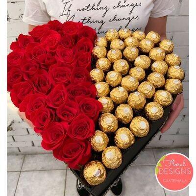 Big Box de corazón + Ferrero