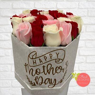 Sky Box de rosas
