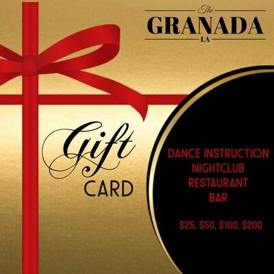 Granada Gift card