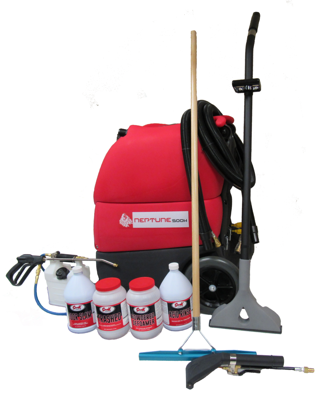 Complete Carpet Cleaning Equipment Package – Neptune 500H