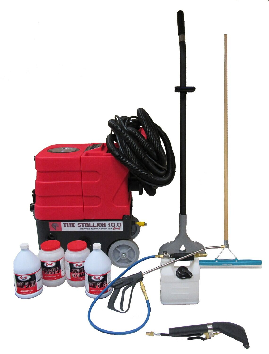 Complete Carpet Cleaning Equipment Package – Stallion 10.0