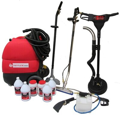 Complete Carpet & Hard Surface Cleaning Equipment Package – Neptune 1200